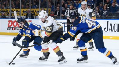 St. Louis Blues at Vegas Golden Knights Betting Preview